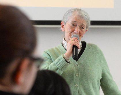 Zeitzeugengespräch mit Holocaust-Überlebender