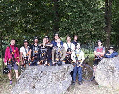 Ausflug in den Kletterwald Diez