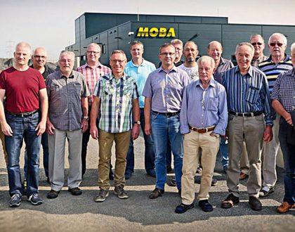 Ehemalige Lehrer zu Besuch bei der MOBA