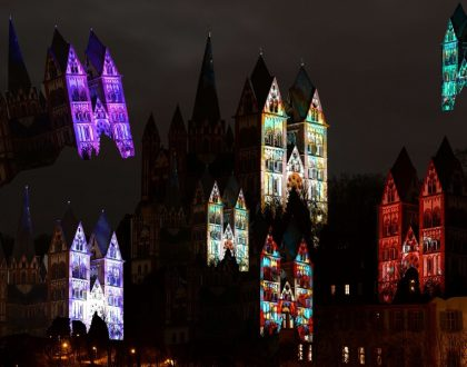 Lichtfestival in Limburg am Dom