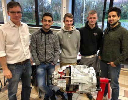 Neues Getriebe-Schnittmodell für Bereich Fahrzeugtechnik