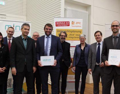 Friedrich-Dessauer-Schule ist MINT-freundliche Schule