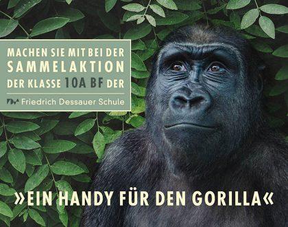 Ein Handy für den Gorilla