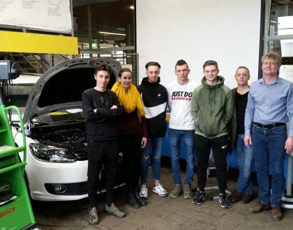 FDS Limburg empfängt fünf junge Franzosen