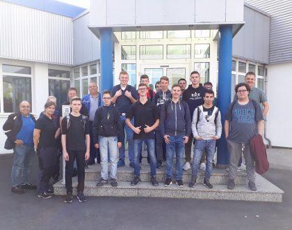 Betriebsbesichtigung bei der HYDROTECHNIK GmbH
