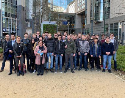 Ein Tag im EU-Parlament in Brüssel