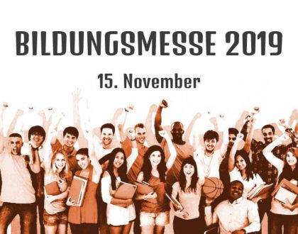 Bildungsmesse am 15. November