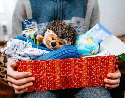SV-Spendenaktion: Weihnachten im Schuhkarton