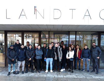 Besuch des Hessischen Landtags