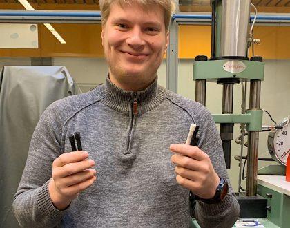 """""""Jugend forscht"""" in der Fachoberschule Maschinenbau"""