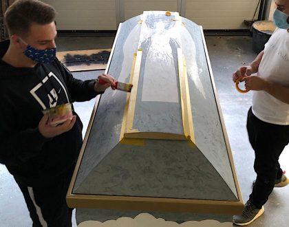 Projekt der FDS mit dem Bestattungsinstitut Ehmann