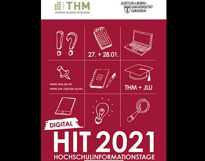 Hochschulinformationstage (HIT) 2021 – Angebot zur Studienorientierung