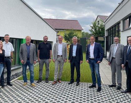 Besuch des Staatssekretärs an der Friedrich-Dessauer-Schule Limburg